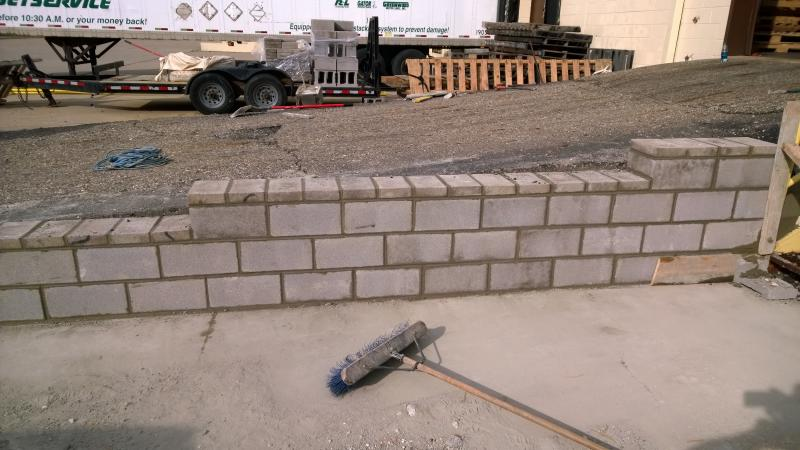 Streetsboro Ramp Retaining Wall